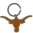 Texas Longhorns Enameled Key Chain